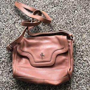 Blush cole haan crossbody bag